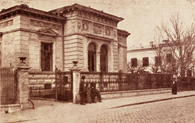 Casa Dimitrie Sturzda din strada Mercur