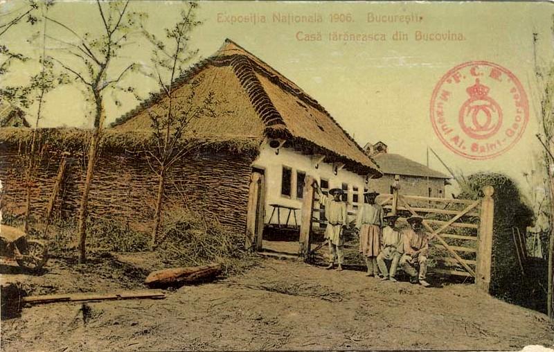 Casă Bucovineană - Biblioteca Naţională a României