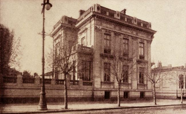 Casa ing. M. N. Miclescu, din Bulevardul Carol nr. 49