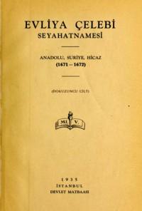 Ediţia cărţii lui Evliya Çelebi din 1938, în care sunt inserate imaginile de mai sus