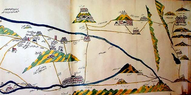 O hartă a vremii