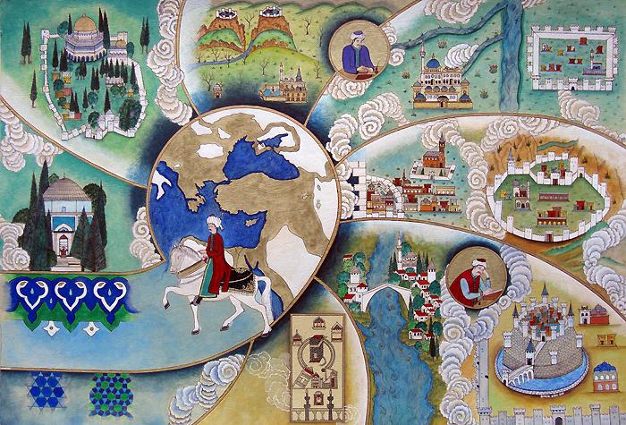 Evliya Çelebi, metafora călătoriei