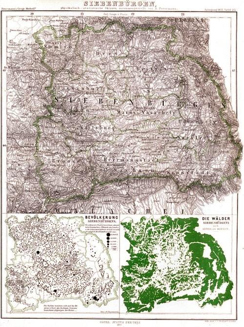 Harta Transilvaniei
