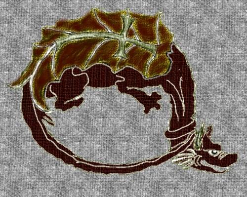 Insigna celor onoraţi cu Ordinul Dragonului