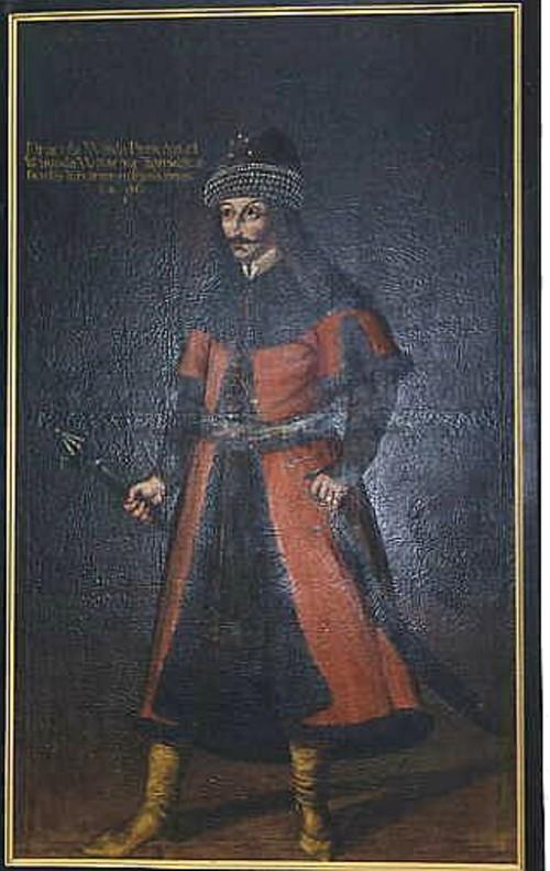 0 Dracula Tepes tablou