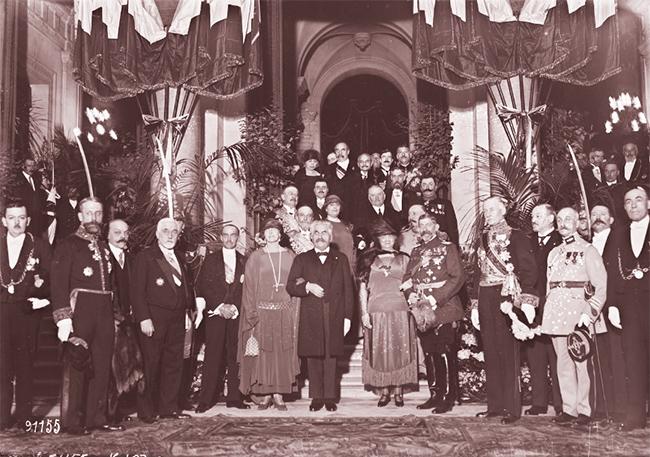 GALLICA: 10.04.1924: réception des souverains roumains à l'Hôtel de ville