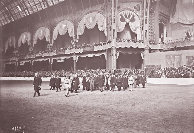 GALLICA, 12.04.1924: les souverains roumains au concours hippique