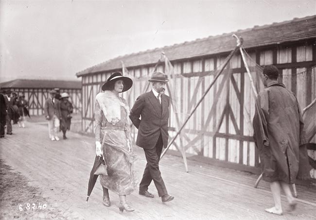 GALLICA, 21.08.1921: le roi de Roumanie à Deauville