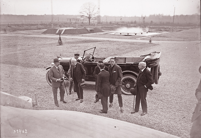 GALLICA, 22.04.1924: visite du roi de Roumanie à Sainte Assise