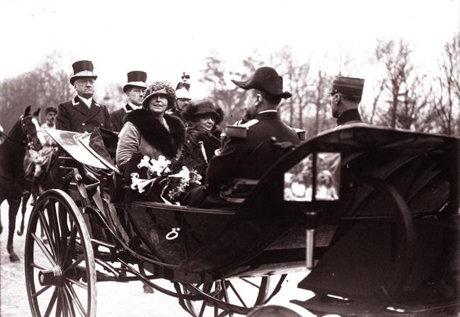 GALLICA: Voyage du Roi et de la Reine de Roumanie à Paris,  le Roi de Roumanie et M. Millerand