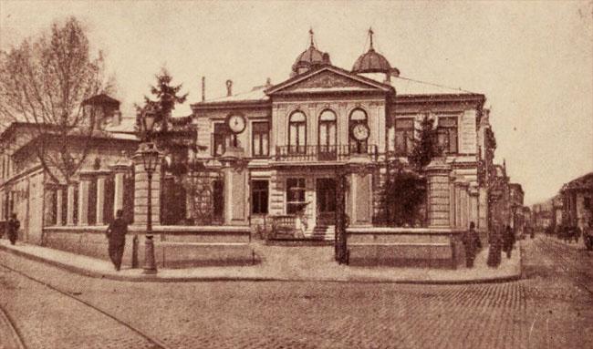 Hotel Em. Protopopescu-Pake, din str. Biserica Enei, colţ cu I. C. Brătianu
