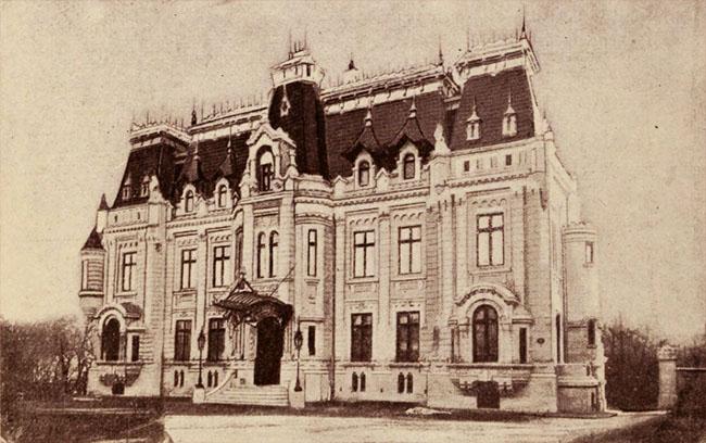 Hotel Helene Cretzulescu, din str. Ştirbei Vodă - arhitect P. Antonescu