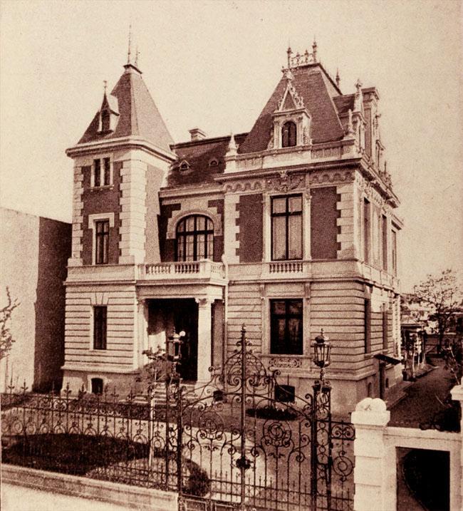 Hotel M. J. Cuculi, din str. J. Michelet nr. 8