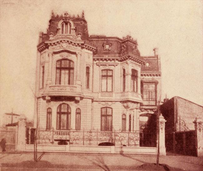 Hotel Papazoglu, din Bulevardul Colţei nr. 56 - arhitect M. Monkton