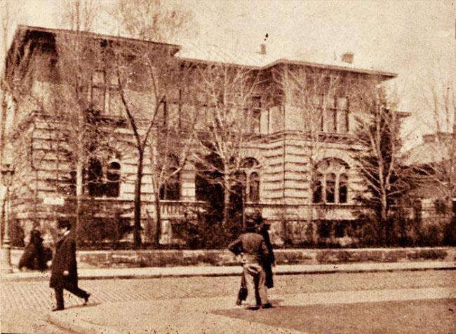 Hotel Nicu Filipescu, din strada Batiştei