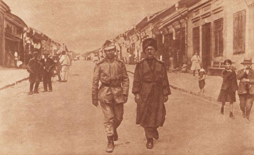 0 Le Miroir 17 sept 1916 Român şi rus în Burdujeni