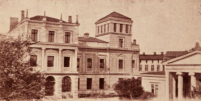 Palatul Ştirbey, de pe Calea Victoriei