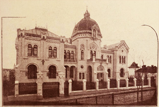 Palatul episcopal catolic, din strada Esculap