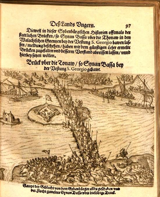 Pagina cu care începe jurnalul de front al bătăliei de la Giurgiu