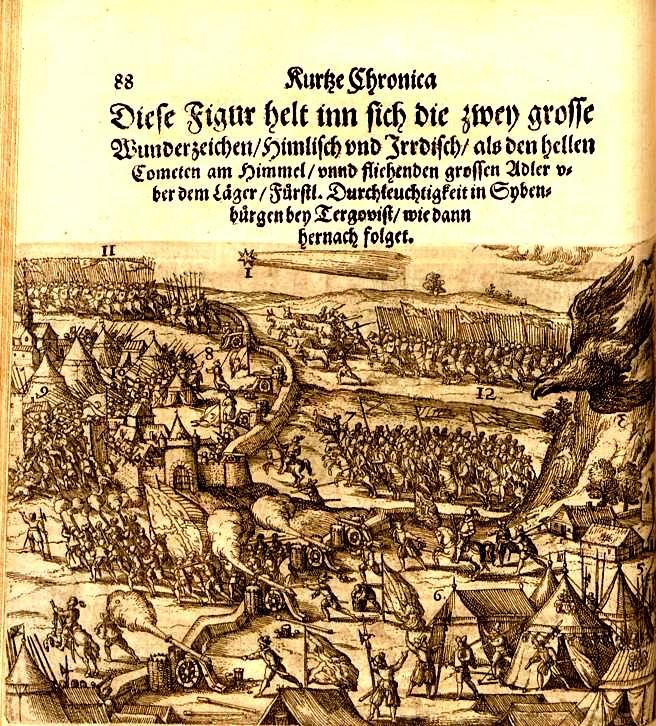 Pagina cu care începe descrierea bătăliei de la Târgovişte