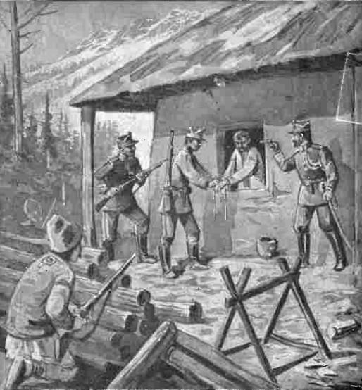 Capturarea lui Pantelimon - Gazeta Ilustrată nr. 1 din 17 decembrie 1911