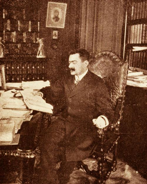 Primarul Mihail G. Cantacuzino