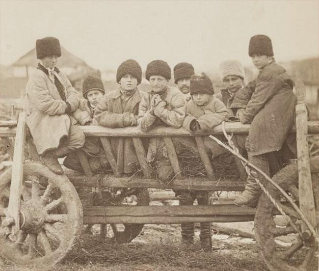 0 Types et costumes de la Rusie Guvernământul Basarabiei