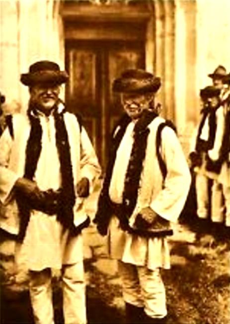 Ţărani români din Arbore