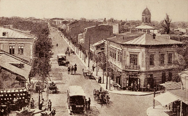 Bulevardul Maria, în 1894