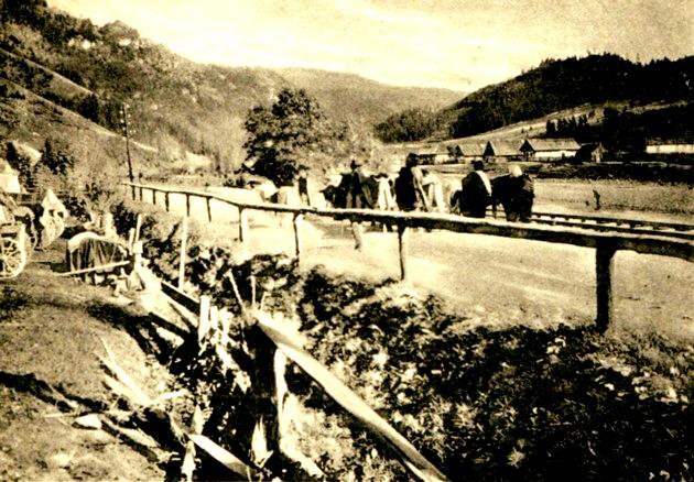 Drumul spre Cârlibaba