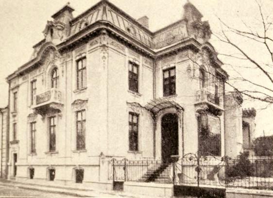 Casa Balaceanu, din strada Puţul de Piatră