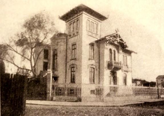 Casa Elie Radu, din strada Lahovary