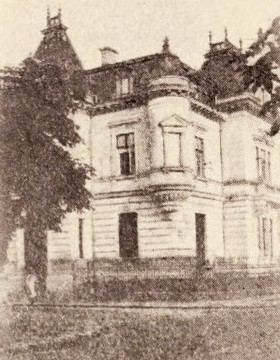 Casa Mitilneu, din strada Mercur
