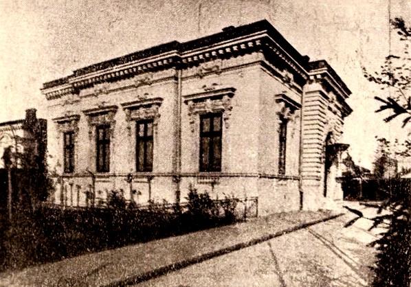 Casa avocatului Rosental, din strada Teilor