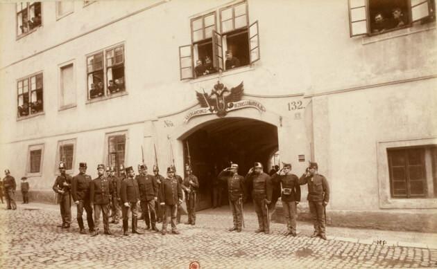 Ostaşi austrieci în Cernăuţi