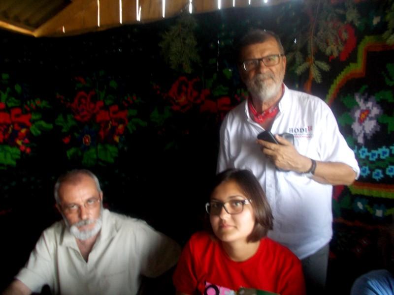 Victor Rusu, Mihai Pânzaru-PIM şi tânăra lor ucenică