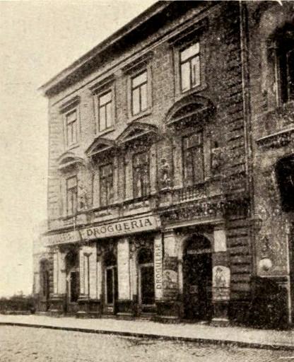 Drogheria Al. Roman, din strada Stavropoleus