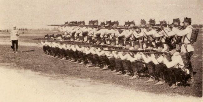 Exerciţii de infanterie