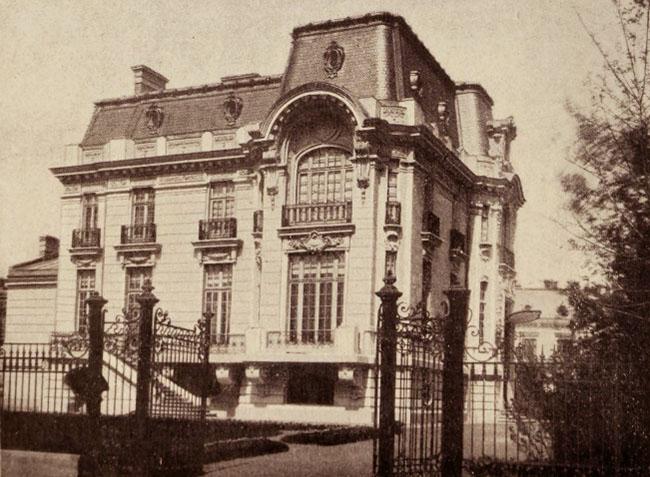 Hotel Grigore P. Olănescu, de pe Calea Victoriei