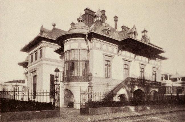 Hotel Turnescu, de pe strada Dionisie