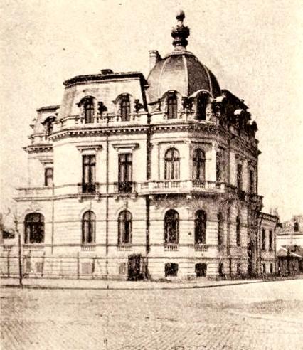 Hotelul Anagnostiade, din Bulevarul Colţea