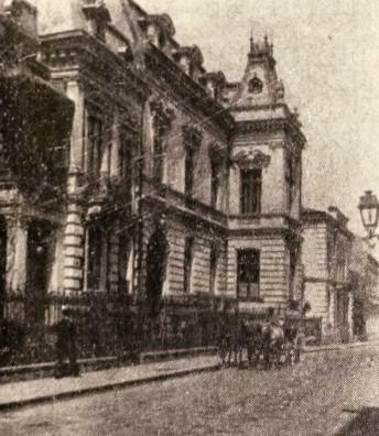 Hotelul C. Arion, din strada Corabiei