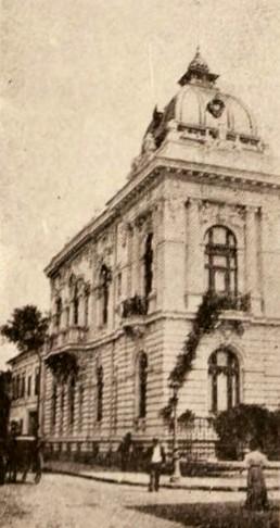Hotelul I. Grădişteanu, din strada Victoriei
