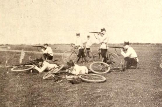 Infanteria pe biciclete