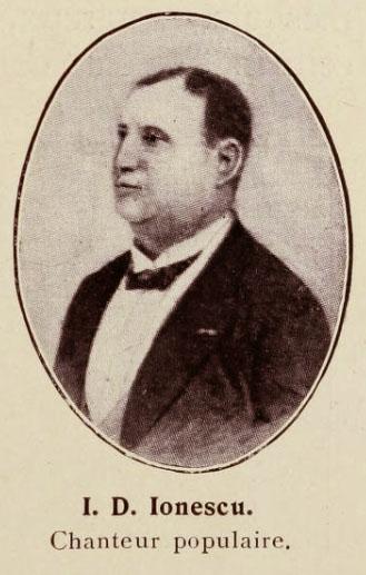 Cântăreţul Ion D. Ionescu