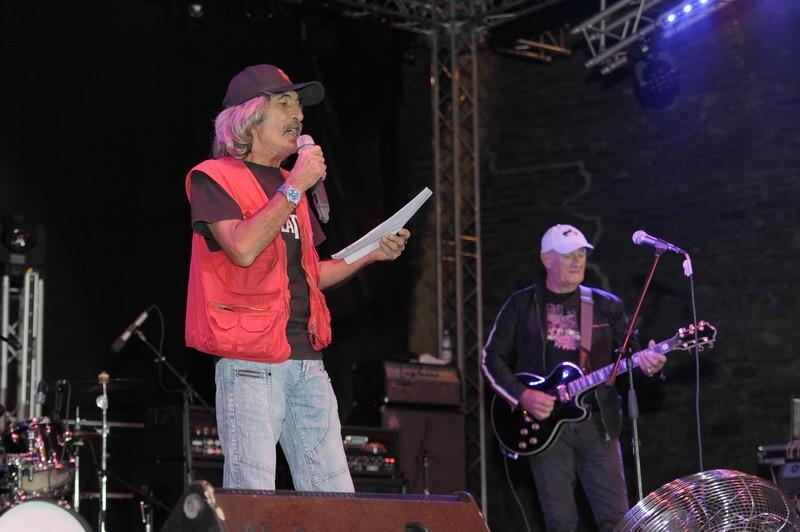 Doru Popovici, prezentându-şi idolul: JAN AKKERMAN