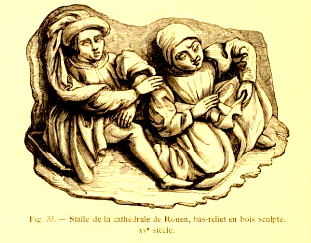 1 Lacroix Basorelief Rouen XV