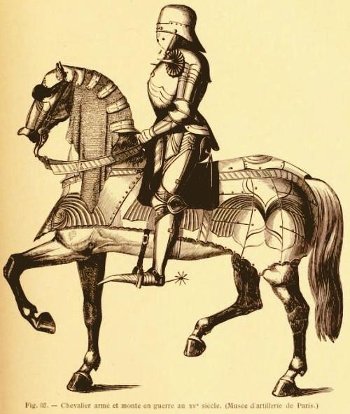 1 Lacroix Cavaler francez