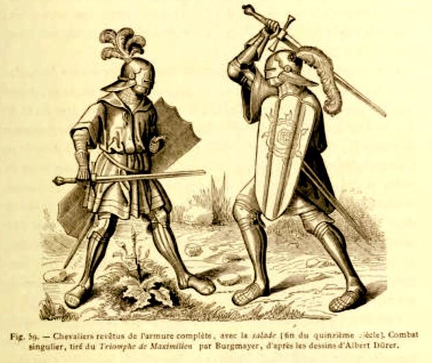 1 Lacroix Duel cavaleresc