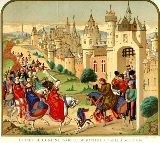 1 Lacroix Intrarea Isabelei in Paris